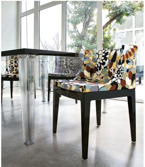 Mademoiselle Chair 4 by Kartell modern-living-room-chairs