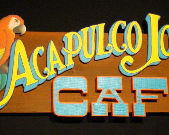 "Acapulco Joe's - 30"" by 12"""