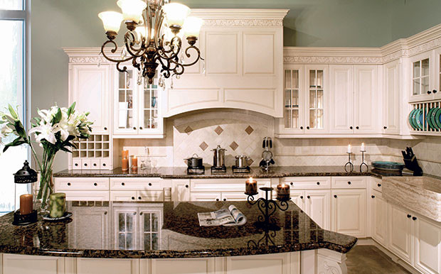 Hampton White eclectic-kitchen-cabinetry