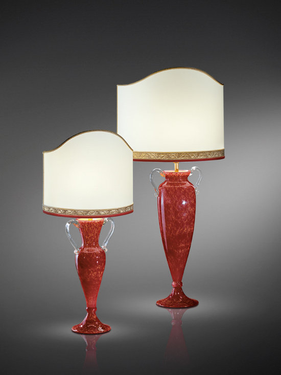 "Italamp Cult Edition ""Armonia Table"" - talamp table lamp IT/8048/P.Rosso"