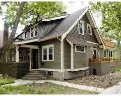 Exterior Paint Colors Craftsman Cottage Want More Contrast