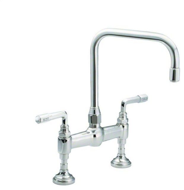 Kallista For Town By Michael S Smith Kitchen Faucet Lever Handle Traditional Kitchen