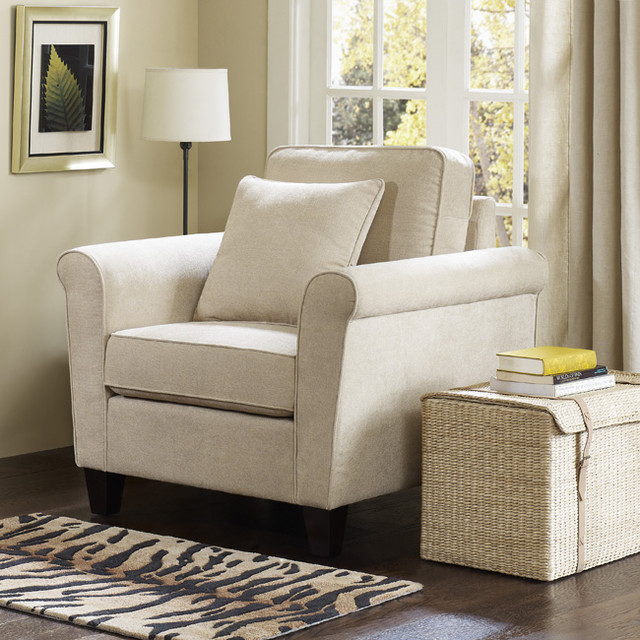 Griffin Avigon Stone Club Chair contemporary-living-room-chairs