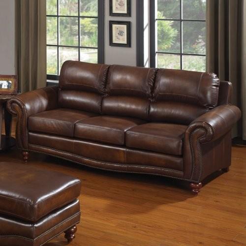 Charles Schneider Mojave Leather Sofa