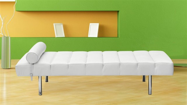 Classic Daybed in White contemporary-daybeds
