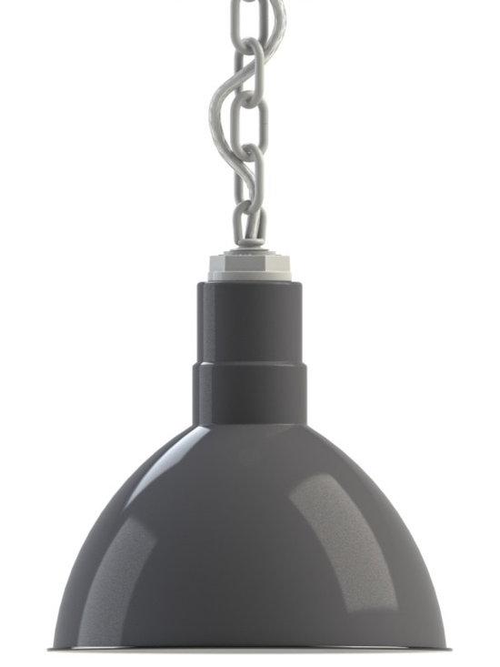 Steber Wilcox Deep Bowl Chain Hung Pendant -