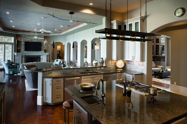 Lake house traditional kitchen austin by pillar custom homes