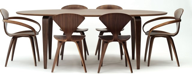 Norman cherner chairs contemporary dining