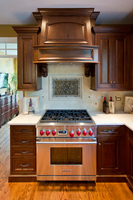 Chapman Court Project traditional-kitchen