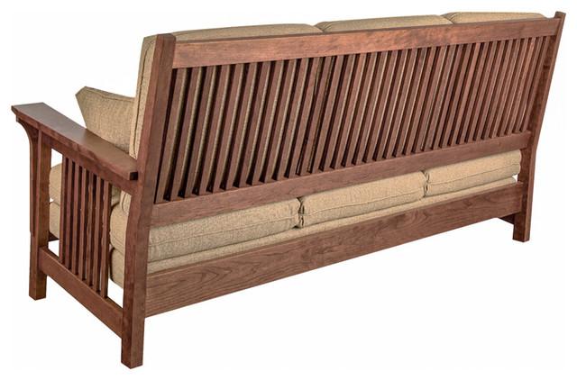 Back Of Mackintosh Low Back Sofa Craftsman Sofas Dc