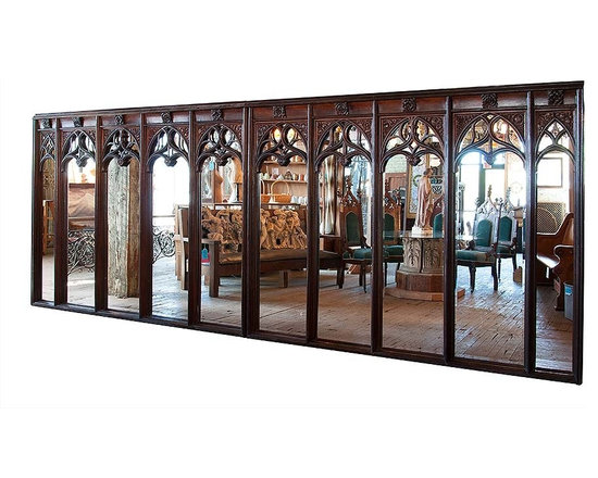 Unique Items- things to design a room around - Oak Gothic tracery salvaged from the St. Paul Hotel