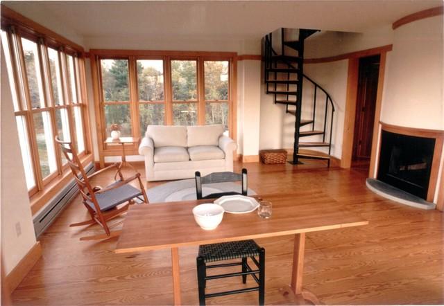 Kinderhook Barn traditional-living-room