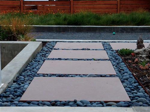 Walkway help needed, modern landscape design