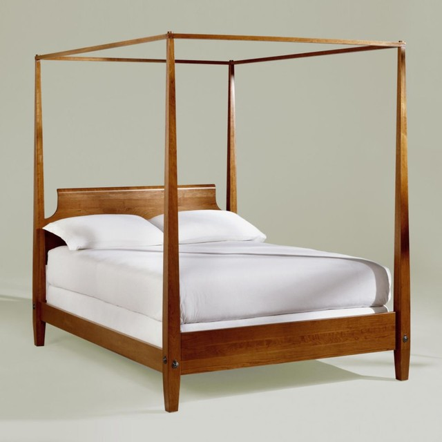 Ethan allen canopy bed dresser the house decorating for Traditional four poster beds