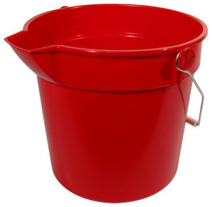 10 Quart Multi Purpose Bucket - Cleaning Buckets - by The Webstaurant Store