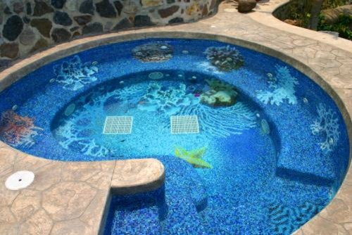 Mosaic pool designs mexico modern other metro by for Pool design pattern