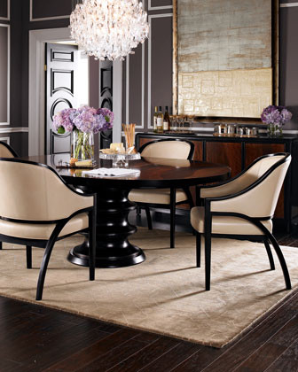 Bernhardt Two Stella Chairs traditional dining chairs and benches