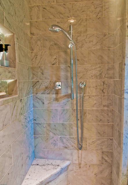 """Bathroom Remodel:  """"Bright Blue"""" modern-bathroom"""