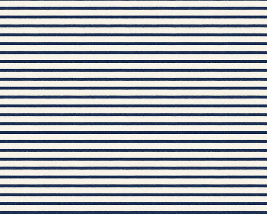 "Ballard Designs - Cambridge Stripe Sunbrella Fabric by the Yard - Content: 100% Sunbrella® Acrylic. Repeat: Railroaded fabric, 0.83"" repeat. Care: Spot clean with mild soap solution. Width: 54"" wide. Navy and ivory stripe printed on easy-care Sunbrella acrylic. Content: 100% Sunbrella Acrylic .  . .  . Because fabrics are available in whole-yard increments only, please round your yardage up to the next whole number if your project calls for fractions of a yard. To order fabric for Ballard Customer's-Own-Material (COM) items, please refer to the order instructions provided for each product.Ballard offers free fabric swatches: $5.95 Shipping and Processing, ten swatch maximum. Sorry, cut fabric is non-returnable.Because fabrics are available in whole-yard increments only, please round your yardage up to the next whole number if your project calls for fractions of a yard. To order fabric for Ballard Customer's-Own-Material (COM) items, please refer to the order instructions provided for each product.Ballard offers free fabric swatches: $5.95 Shipping and Processing, ten swatch maximum. Sorry, cut fabric is non-returnable."