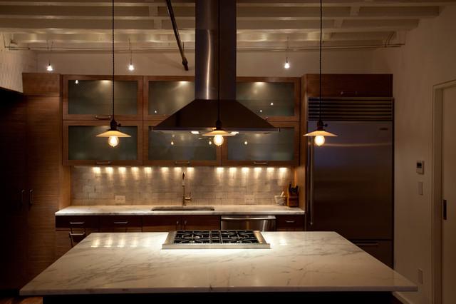 Chef 39 s open kitchen new york city tribeca loft luxury for New york loft kitchen design