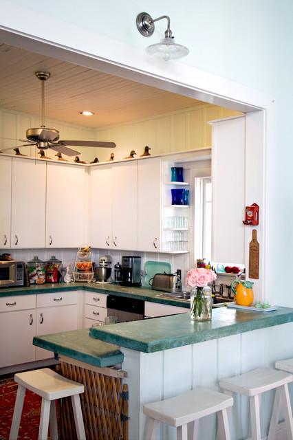 Island Grove Estate Kitchen tropical-kitchen