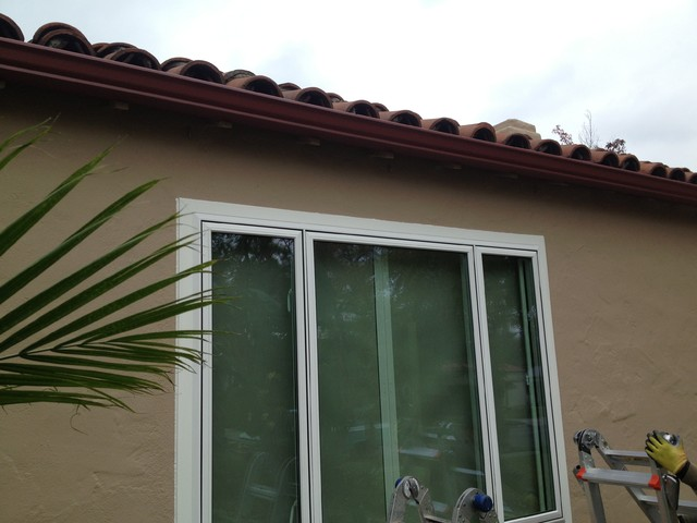 Rain Gutters Los Angeles and Orange County traditional-exterior