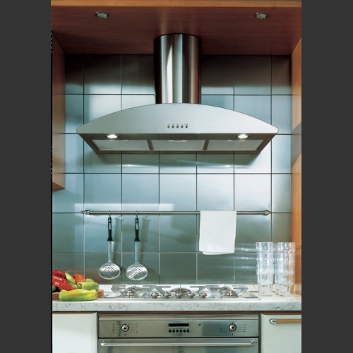 Corner Range Hood Mantle Images