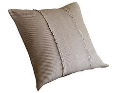 Farmhouse Stripe Boudoir Pillow traditional-decorative-pillows