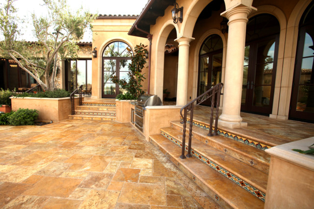 Mediterranean Villa Mediterranean Wall And Floor Tile