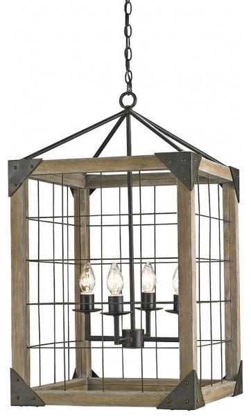 Eufaula Lantern Chandelier modern-pendant-lighting