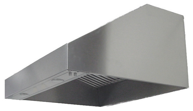 Imperial WH1936PSB-32-K 36; Outdoor Wall Range Hood w/ Baffle Filters modern-range-hoods-and-vents