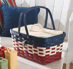 Americana Medium Market Basket traditional baskets
