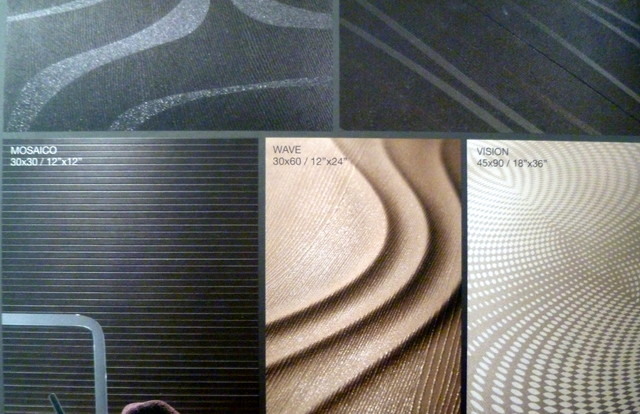 Porcelain Floor Tile -- Rhythm Series modern floor tiles