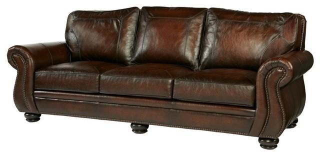 Bernhardt Breckenridge Leather Sofa