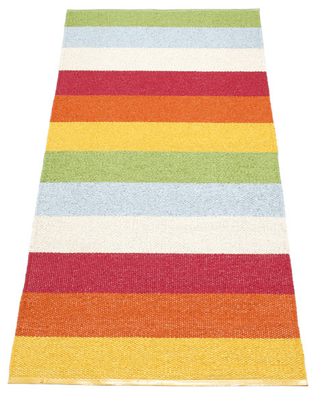 Pappelina Molly Plastic Rug , Multi transitional-rugs