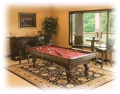 What Is The Size Of The Rug Under The Pool Table Love It
