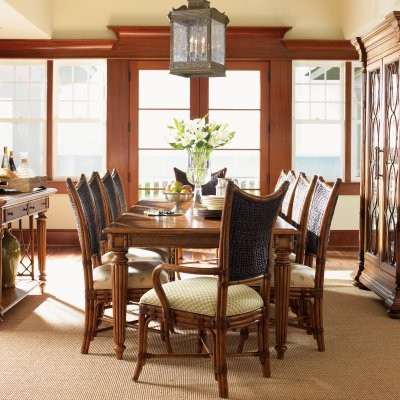 Tommy Bahama by Lexington Home Brands Island Estate Grenadine Rectangular Dining modern-dining-tables