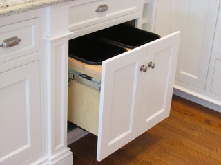 design tips for your kitchen trash pullout — stonehaven life