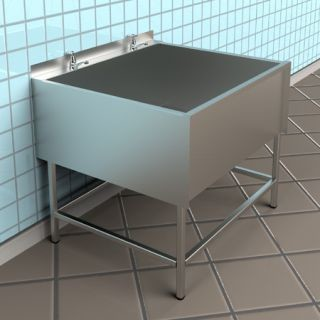 Large Stainless Steel Sinks Uk : Large Utility Sink - Stainless Steel - Industrial - Utility Room Sinks ...