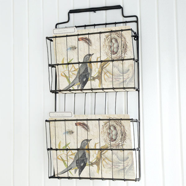 Metal Basket Shelf traditional storage and organization