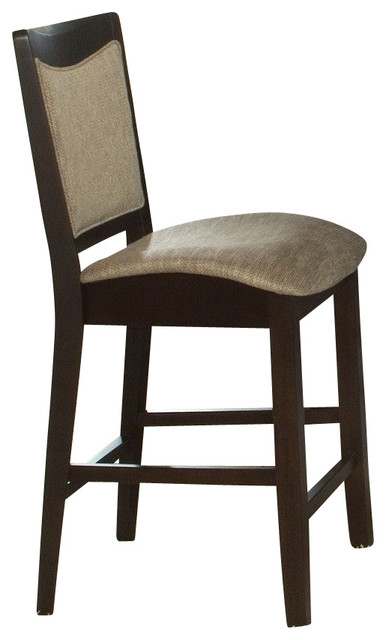 Counter Height Espresso Chairs : Liberty Furniture Ashby Contemporary Counter Height Chair in Espresso ...