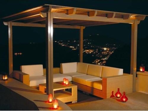 Arizona Woven Deep Right End Facing (Sahara) modern-outdoor-lounge-chairs