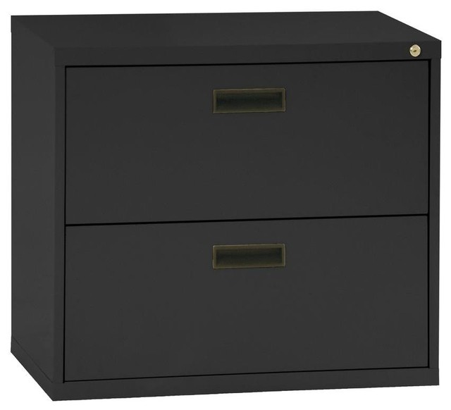 Sandusky File & Storage Cabinets 400 Series 2-Drawer Lateral File Cabinet in - Contemporary ...
