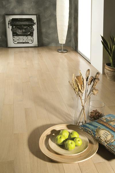 Quarter Sawn Oak Vanilla contemporary-hardwood-flooring