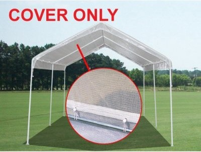 King Canopy 10 x 20 ft. Green House Canopy Cover modern-outdoor-umbrellas
