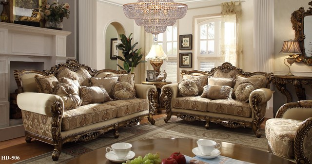 Homey Design Hd 506 3 Pc Living Room Set Rich Chenille