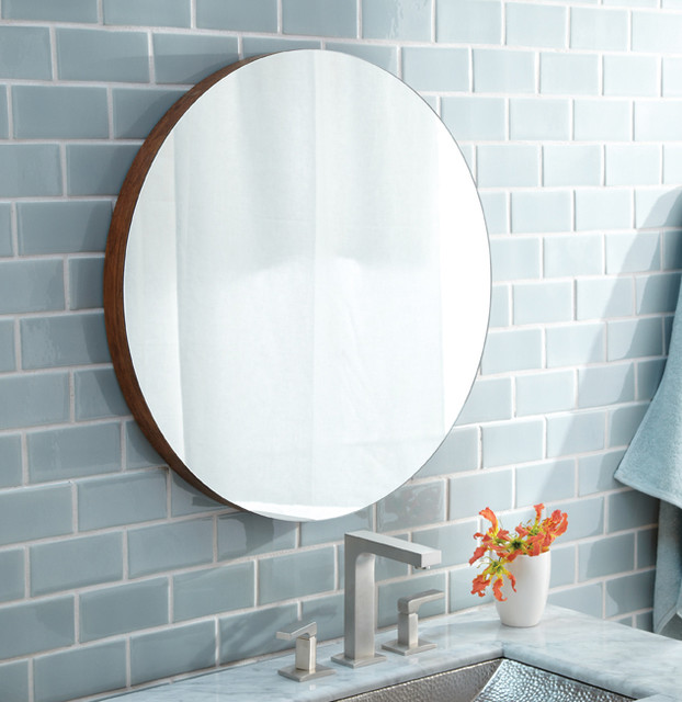 Solace Bamboo Mirror by Native Trails contemporary