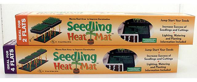 "Hydrofarm Seedling Heat Mat 107watts 48""x20"" contemporary-bath-mats"