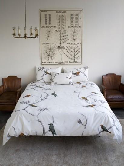 DwellStudio Chinoiserie Pearl Bedding Duvet Cover asian-duvet-covers