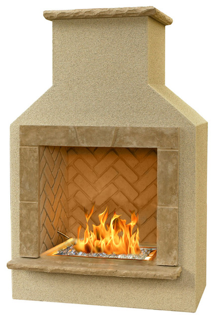 Outdoor Greatroom San Juan Outdoor Gas Fireplace Traditional Outdoor Fireplaces By Fire
